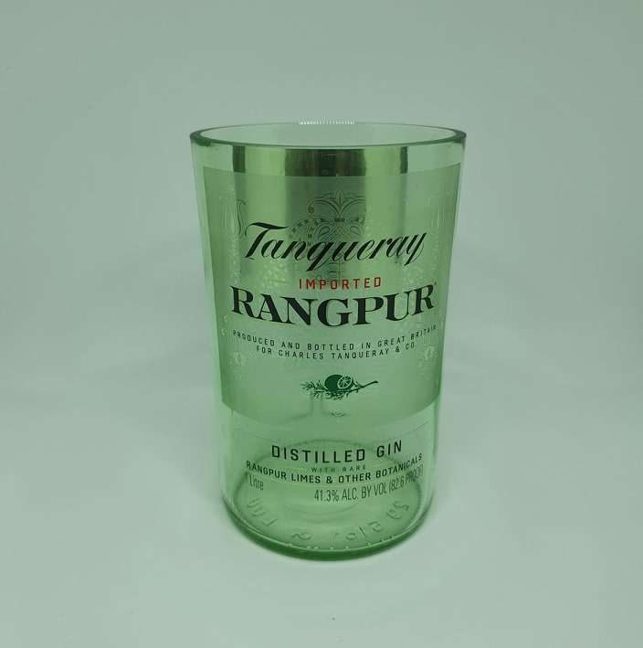 Tanqueray Rangpur Gin Bottle Candle