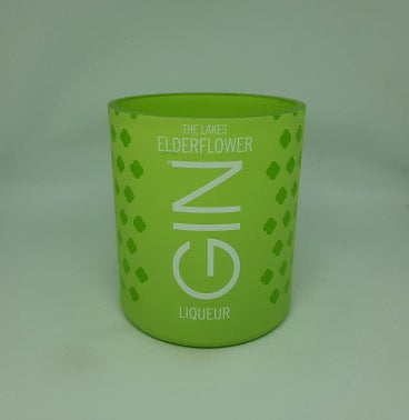 The Lakes Elderflower Gin Bottle Candle