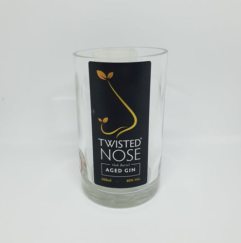 Twisted Nose Gin Bottle Candle