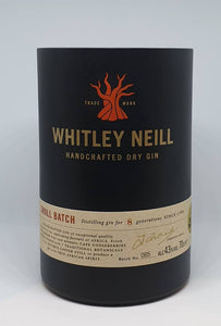 Whitley Neill Gin Bottle Candle