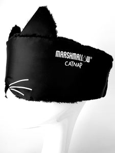 CAT NAP - SLEEP MASK (REVERSIBLE) with pouch
