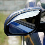 2 Piece Universal Flexible Rearview Mirror Rain Cover