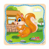 20 Piece Wooden Jigsaw Puzzle (click To See More Animal Options)