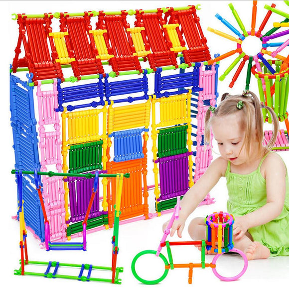 250 Piece Educational Go Together Stick Toy