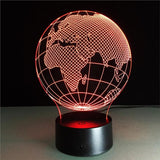 3D Illusion World Light