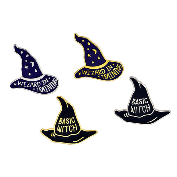 Basic Witch Halloween Brooch / Pin