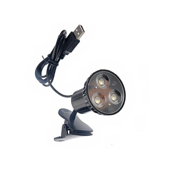 Clip On Bright USB Powered LED Desk Light