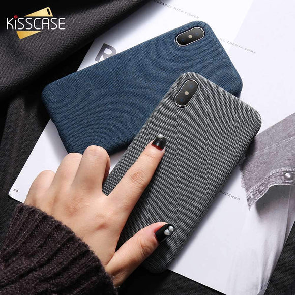 Cloth Patterned Case For IPhone (click To See Other Colors And IPhone Versions)