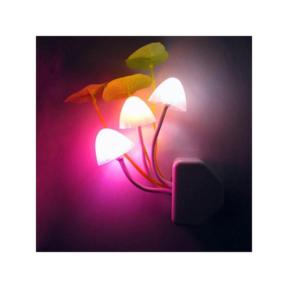 Color Changing Magic LED Mushroom Night Light