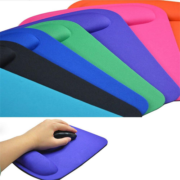 Ergonomic Wrist Support Mouse Pad