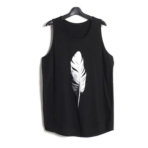 Feather Tank Top (click To See Multiple Versions)