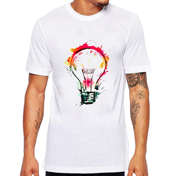 Funky Light Bulb T-shirt