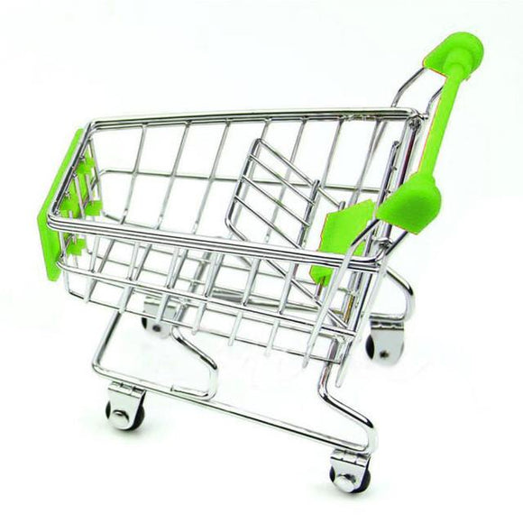 Kid's Pretend Play Shopping Cart