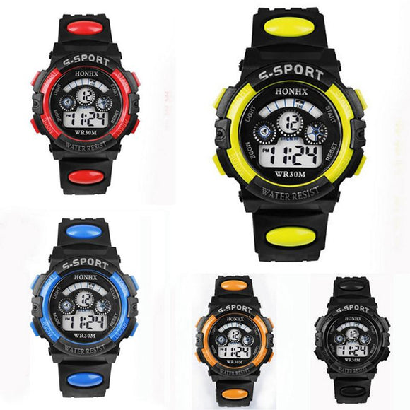 LED Alarm, Waterproof, Outdoor Sports Watch