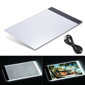 LED Light USB Powered Tracing Artist Pad