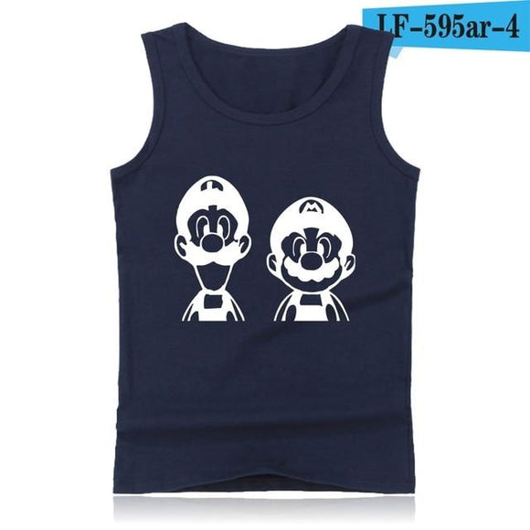 Men's Sleeveless Mario Shirt