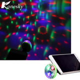 Mini 4 LED Disco USB Powered Ball
