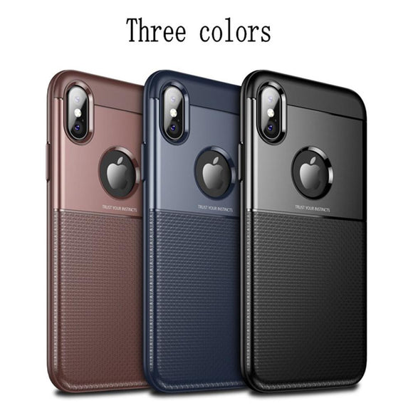 Thin Shockproof Case For IPhone X