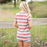 Women's American Flag Shirt / Top