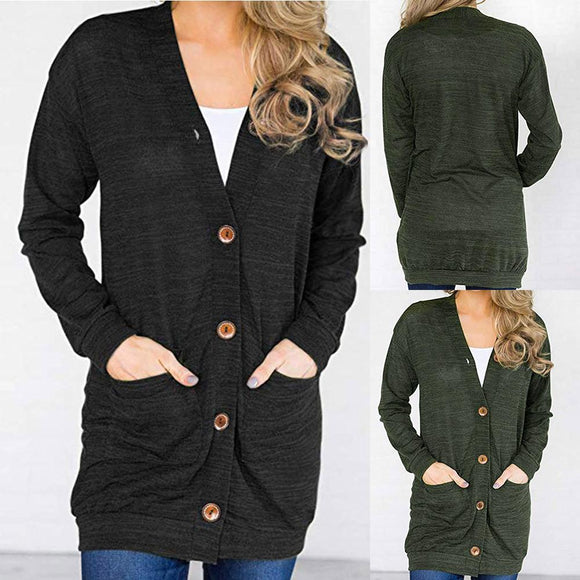 Women's Cardigan Sweater Top
