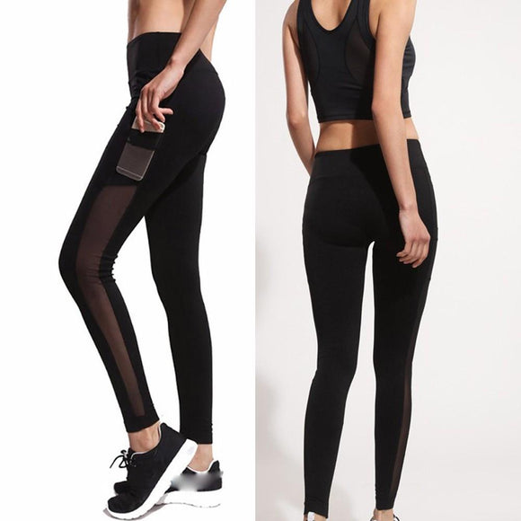 Women's Leggings / Yoga Workout Pants With Pocket
