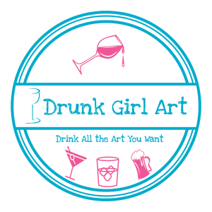 Drunk Girl Art