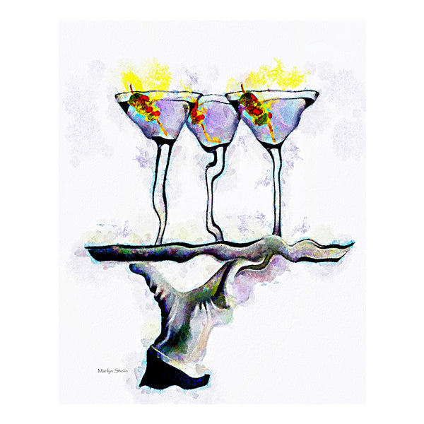 Three Martini for Me