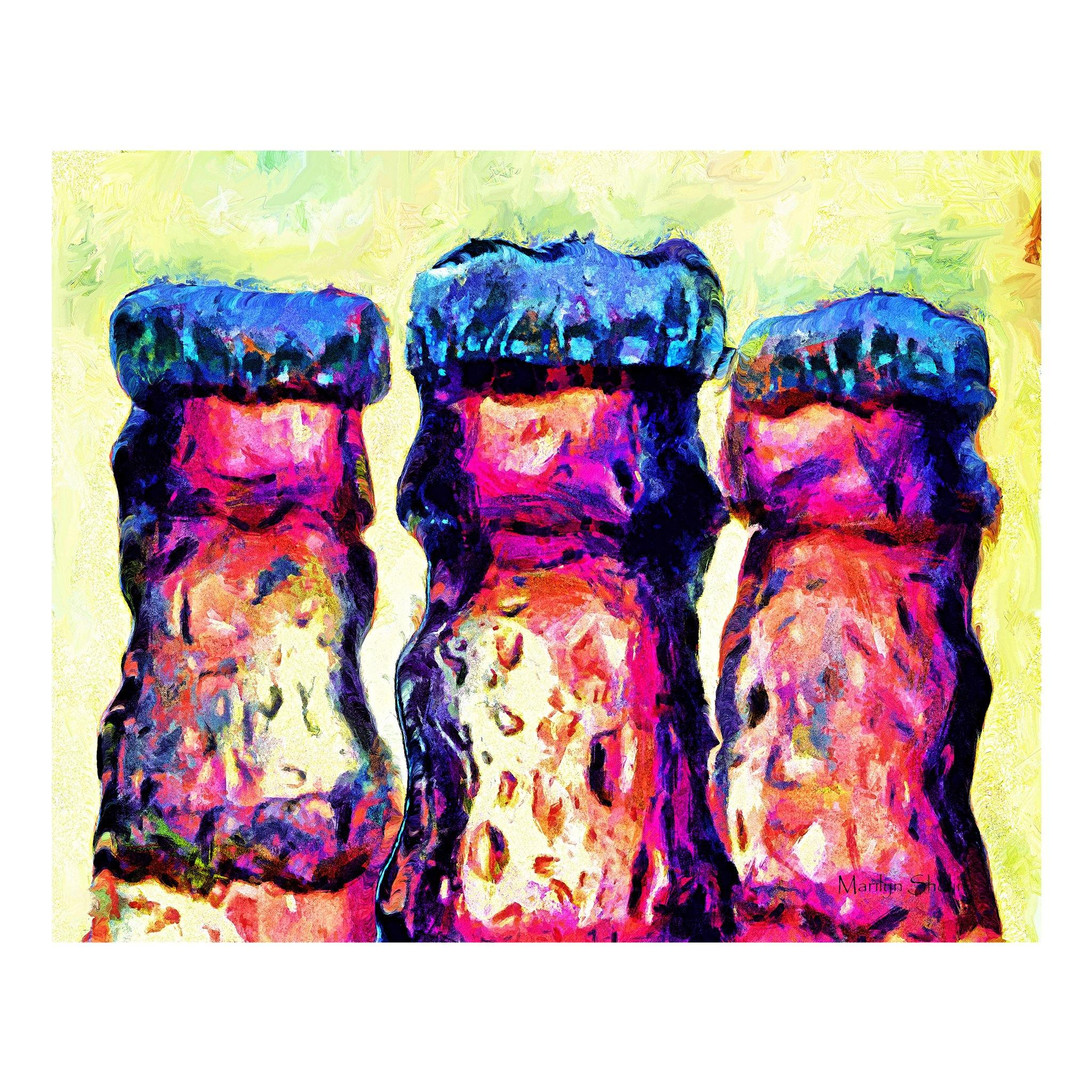 Bottle Caps | Drunk-Girl-Art