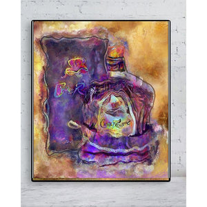 Crown Royal Painting  on Metal
