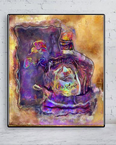 Crown Royal Painting the Original Fine Art Print