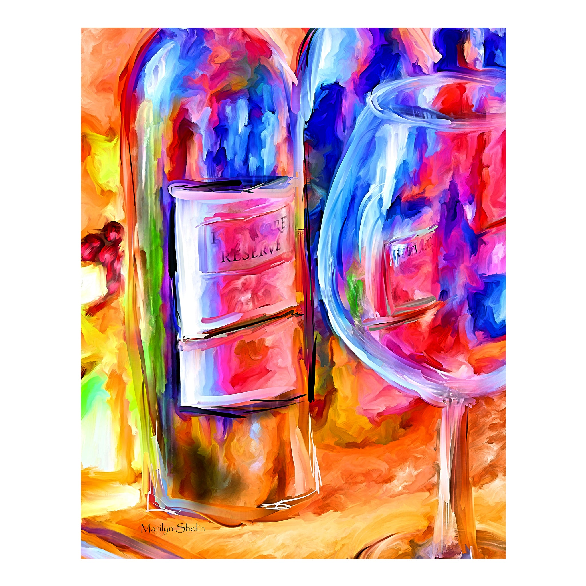 NC Wine | Drunk-Girl-Art