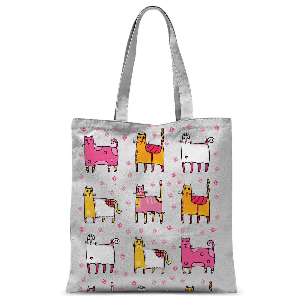 CATS Crazy Cats Classic Sublimation Tote Bag