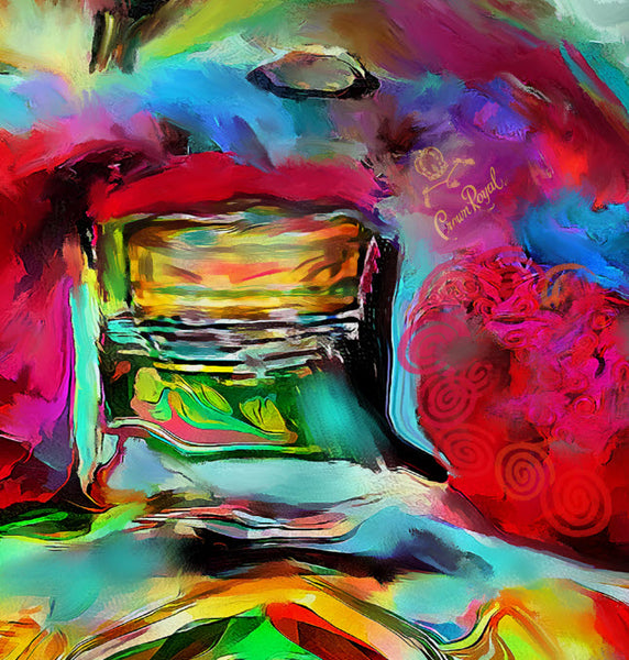 Crown Royal Apple Painting Giclee Reproductions