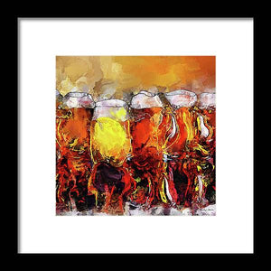 Craft Beer - Framed Print