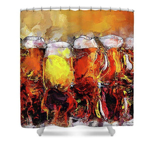 Craft Beer - Shower Curtain