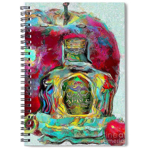Crown Royal Apple - Spiral Notebook