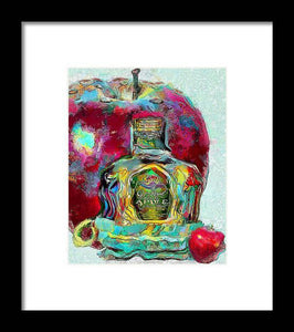 Crown Royal Apple - Framed Print