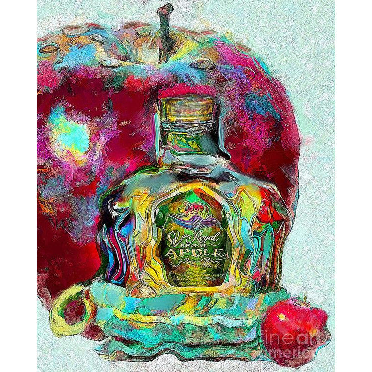 Crown Royal Apple - Art Print