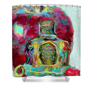 Crown Royal Apple - Shower Curtain