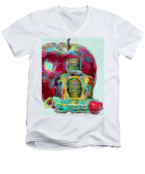 Crown Royal Apple - Men's V-Neck T-Shirt