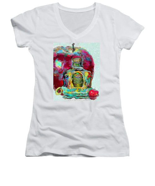 Crown Royal Apple - Women's V-Neck