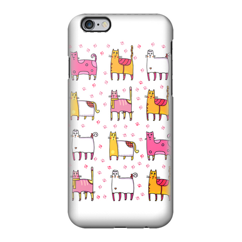 CATS Crazy Cats Fully Printed Tough Phone Case