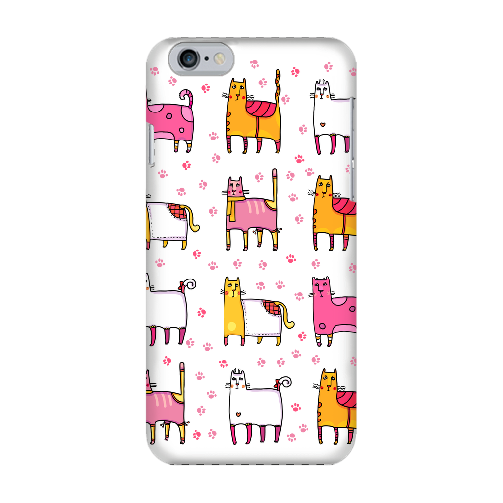 CATS Crazy Cats Fully Printed Glossy Phone Case