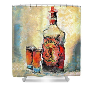 Fireball - Shower Curtain