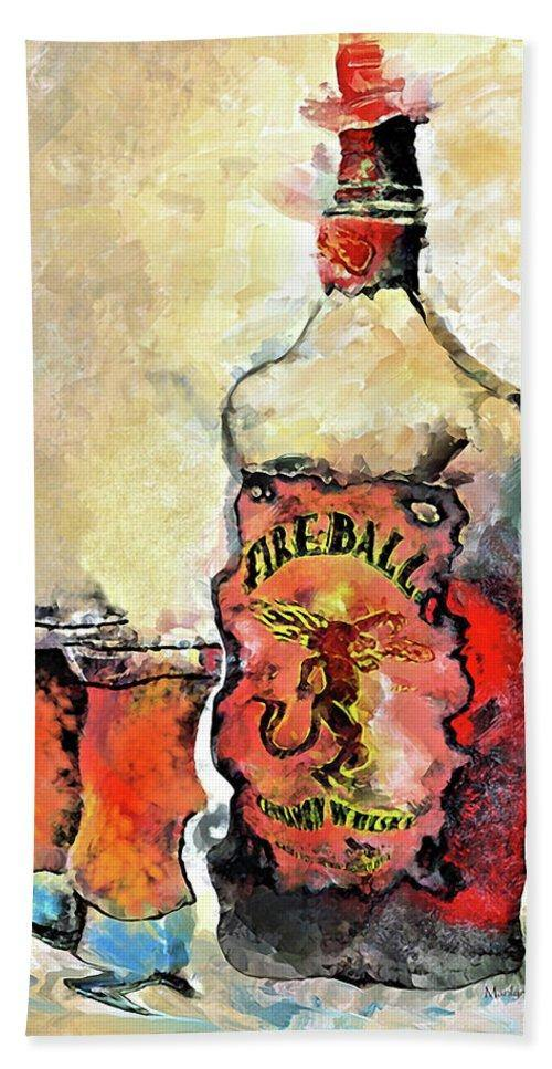 Fireball - Beach Towel