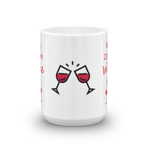 May Contain Wine with Cute Wine Glasses
