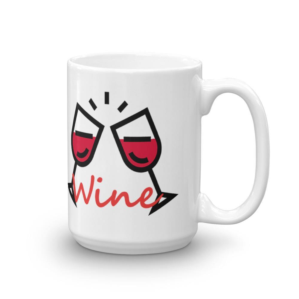 Coffee First then Wine Mug
