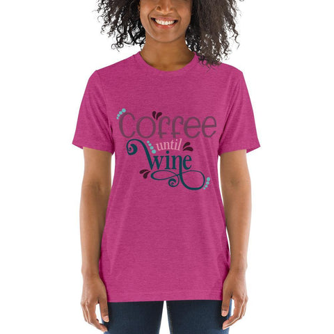 Coffee Before Wine Soft Tshirt