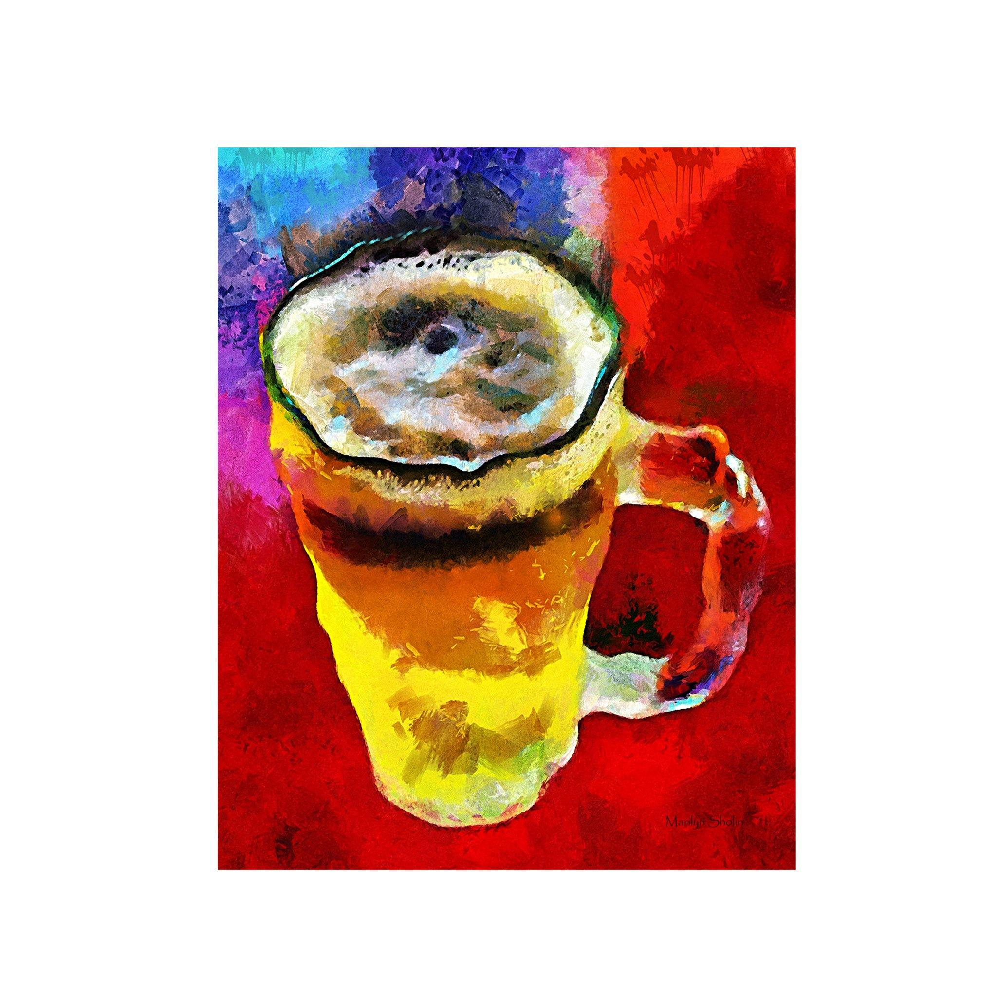 Beergasm | Fine Art Prints & Dye Infused Metal