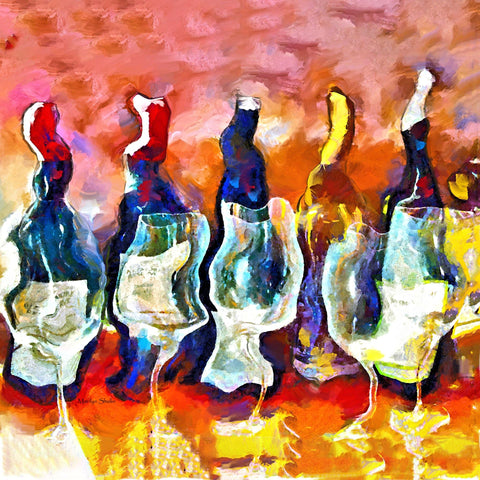 Biltmore Wine | Drunk-Girl-Art